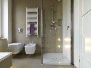Abbildung Dusche und Heizung