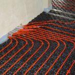 Wasserleitungen Fußbodenheizung