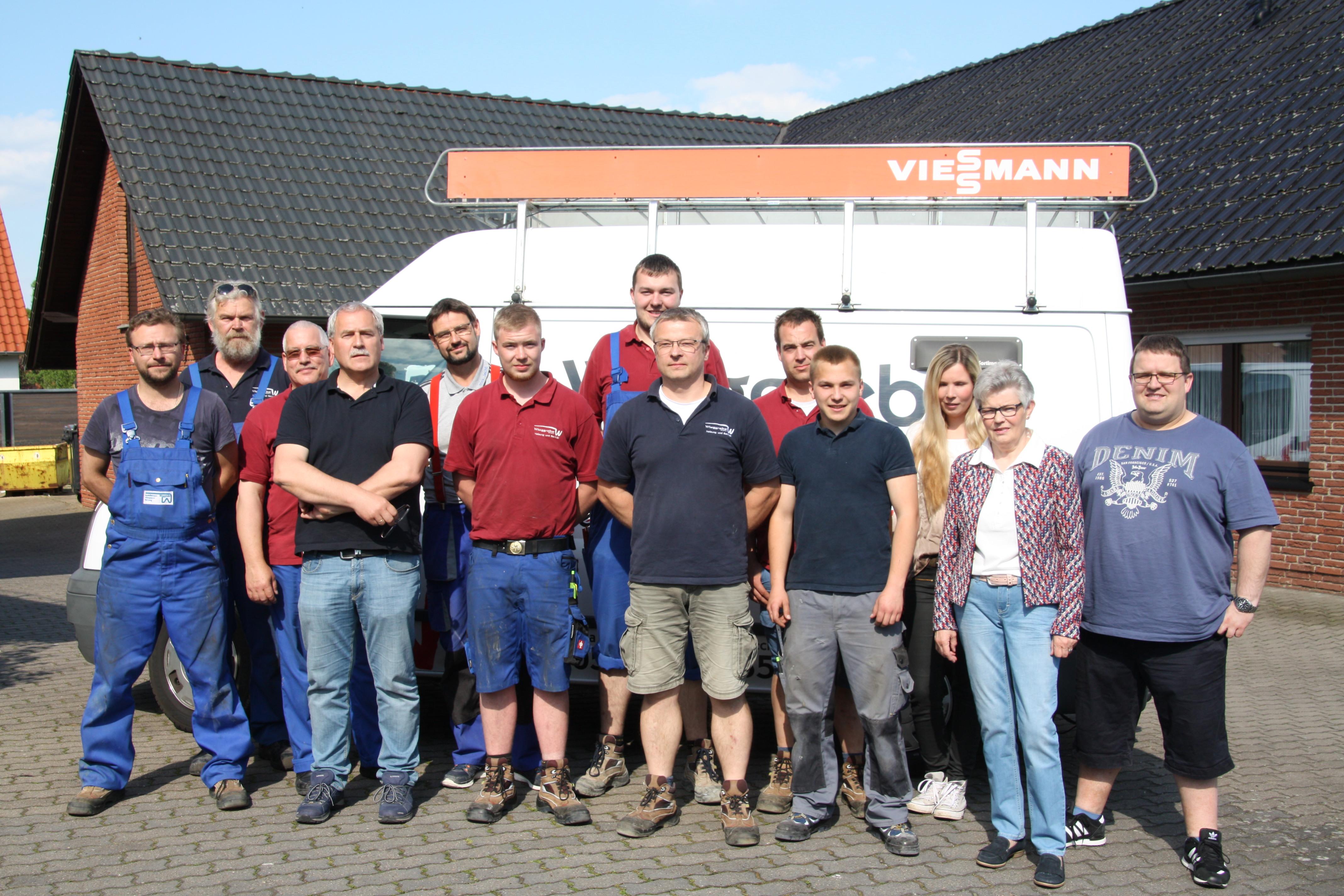 Das Team der Wieggrebe GmbH